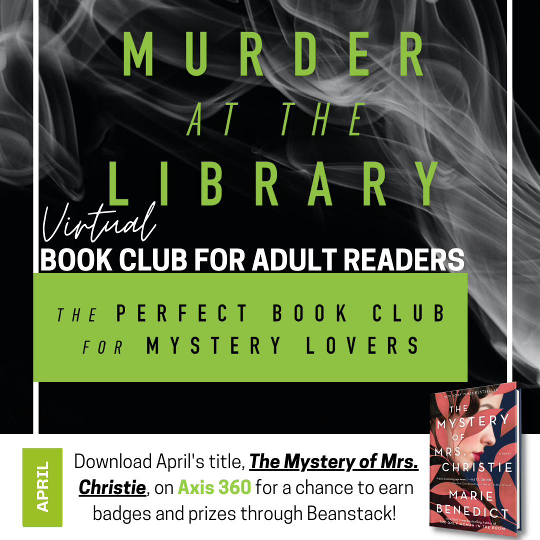 Virtual Book Club for Adult Readers and Exclusive Live Author Event!