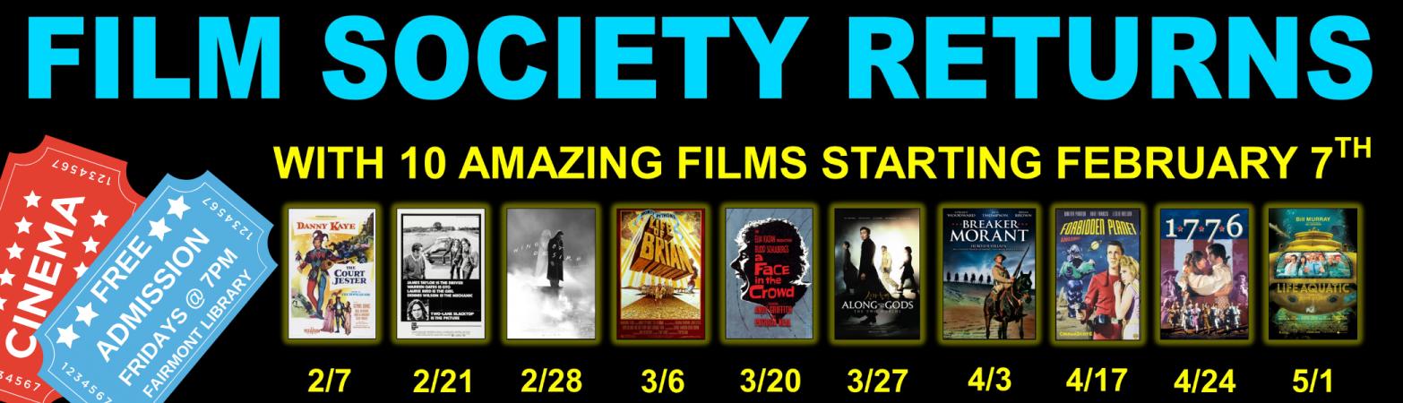 Film Society SPRING2020