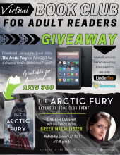 "Don't miss out on January's Virtual Book Club title, ""The Arctic Fury"" by Greer Macallister, a USA Today Bestselling Author."