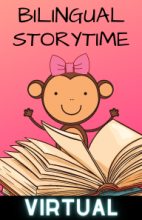 Virtual Bilingual Storytime - Wednesdays at 11:00AM