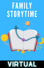 Virtual Family Storytime - Tuesdays at 4PM