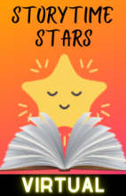 Virtual Storytime Stars - Tuesdays at 11:00 AM